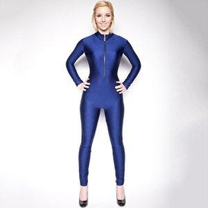 SPEERISE ВМС Adult Lycra спандекс Комбинезон Bodysuit всего тело с длинным рукавом для женщин Водолазки Zentai балета Latin Dance одежды