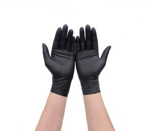 Latex Glove Free Lot Lady Shipping Kitchen Black Work Rubber Garden Universal Waterproof Protective Gloves G0203 QA6Z2G