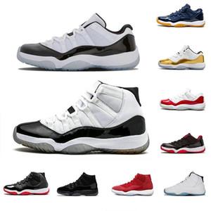 2020 İndirim Satış 11'ler için Erkekler Basktball Ayakkabı Kadınlar 72-10 Orta Lacivert Win gibi 82 Gama Legend Düşük Soğuk Gri 11 Sneakers ile Kutusu sz7-13