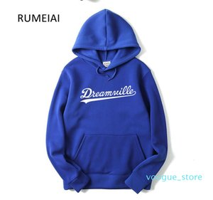 Men Dreamville J. COLE Sweatshirts Autumn Spring Hooded Hoodies Hip Hop Casual Pullovers Tops Masculino Hip hop Sweat Jacket Men's