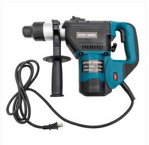 """Wholesales Envoi gratuit 1-1 / 2"""" SDS Marteau électrique Drill Set 1100W 110V Bleu"""