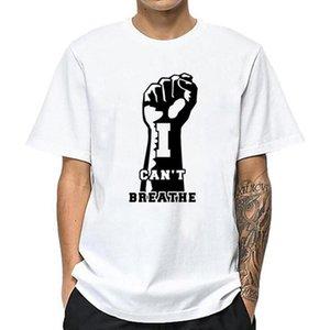 Mode-Männer-T-Shirt Street I Cant Breathe Männer Frauen-Qualitäts-Hip Hop Kurzarm Herren Stylist Tees S-4XL