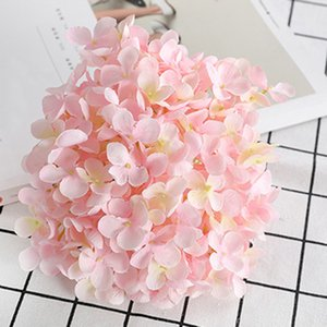 Künstliche Mini Flower Hydrangea Silk Fälschungs-Blumenhauptdekor-Mädchen-Geschenk-Verzierung