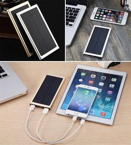 E 20000mah Drop Portable Battery Solar Power Bank Charger Mobile Power Led Camping Lamp Flashlight Dual Usb Panel Waterproof For Cell Phone