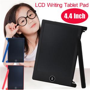 Tablette d'écriture LCD de 4,4 pouces pour enfants Tableau électronique avec tableau noir Tableau de dessin numérique Pads pour écriture manuscrite Tableau de graffiti pour enfants électronique