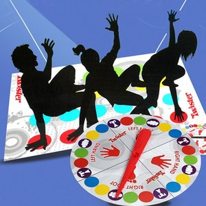 Indoor Fun Twister Toy Game For Children Adult Sports Moves Interactive Group Educational Toys Classic Spot Body Twister Game