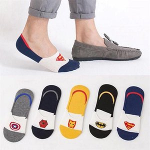 Sports Comfortable Athletic Socks Mens Designer Contrast Color Sock Slippers Summer Striped Print Ankle Length Underwear