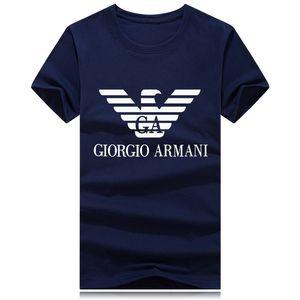 2019 hombre nuevo diseño de lujo camisetas moda para hombre de la marca de impresión carta camiseta camiseta de los hombres de alta calidad casual para hombre berry tops tees b