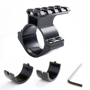 """1pc Fusil embasses Barrel 1"""" / 25.4mm 30mm Adaptateur Bague w / 20 mm Portée Weaver Picatinny Montage sur rail avec Insérer caza"""