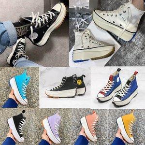 2020 J. W. todas las mujeres JW Anderson Chuck Run estrella caminata vulcanizados Zapatos lona de las mujeres botas de mujer zapatillas de deporte de la plataforma de zapatos Estrellas niñas zapatilla de deporte