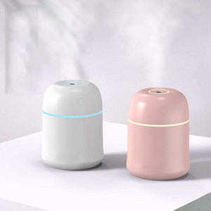 Ultrasonic Essential Oil Diffuser Humidifier LED Light Aromatherapy USB Mini Essential Oil Diffusers Car Air Purifier Aroma Mist Maker Gifts