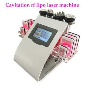 Newest 40K Ultrasonic Cavitation Machine 8 Pads Liposuction LLLT Lipo Laser RF Vacuum Cavi Lipo Slimming Skin Care Salon Spa Equipment