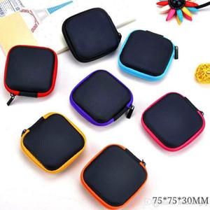 Plus récent emballage coloré boîte sac magasin de stockage pratique Fermeture à glissière carrée portable pour Vape Vaporizer réservoir RDA Atomiseur batterie utilise plusieurs
