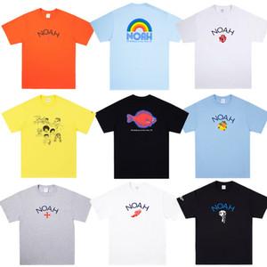 Crew 20 estilos juventud de hoy tee 19SS diseñador para mujer para hombre Camisetas de manga corta de algodón Marca Moda Casual Cuello