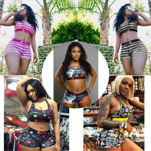 Women Designer Swimwear Ethika Sports Bra + Shorts Trunks 2 Piece Brand Tracksuit Quick Dry Beachwear Bikini Set Clothes