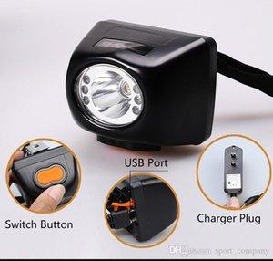 KL4.5LM 3W LED Miner sécurité phares LI-ion rechargeable Digital LCD Douille Lights-déflagrant Mining Headlamp