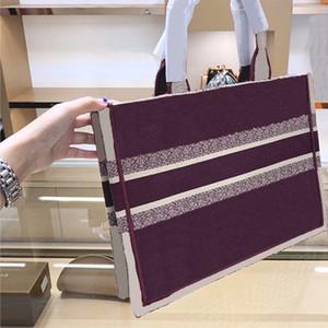 Shopping Bag Bag Ricamato Libro Book Tote Tote Borsa di alta qualità Borsa da donna Borse Borse Borsa Borsa # 1