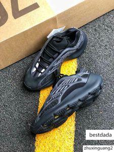 Azael 700 V3 Utility Black kanye west running shoes white Glow in the dark men women fashion designer sneakers