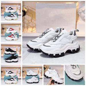 2020 Chegada Nova Designer sapatos de alta qualidade Homens Mulheres Old papai sapatilha Bloco Handmade Lace-Up Arch Sole Multi-estilo de luxo Com Box 35-45