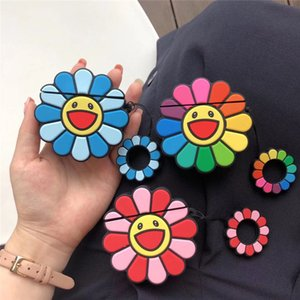 Shopkeeper recommended + sunflower design high quality AirPod 1-2 generation universal wireless Bluetooth headset protection stickers