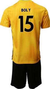 19-20 تخصيص 10 NEVE RAUL 9 CUTRONE 8 DIOGO J.18 J.MOUTINHO 28 BOLY 15 SAISS 27 Soccer Jerseys Jersey Set With Shorts، Custom Jersey