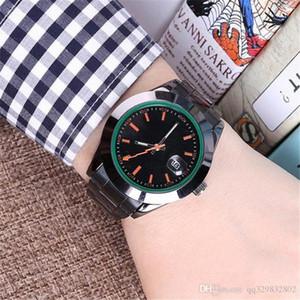 reloj hombre Mens Relógios 2020 vestido de moda de luxo da marca New Men Design Relógio Automatic Data Day simples preto relógio de pulso relógio de quartzo