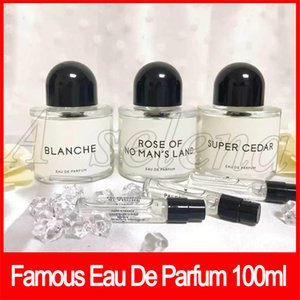 Famosa Maquiagem Corporal 100 ml Perfume Eau De Parfum Spray De Vidro Garrafa Blanche Super Ceder água cigana alta qualidade