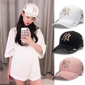 Mujeres Hombres hat NY Classic Team Navy abeja en el campo Béisbol Equipado Sombreros Moda Hip Hop Deporte ny completo Diseño cerrado Gorras Sombrero popular