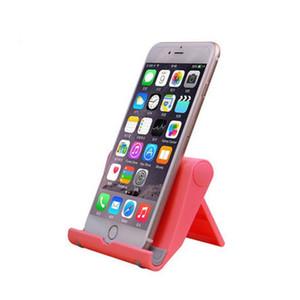 Mini Portable Mobile Phone Table Desktop Stand Holder Universial Folding Plastic Table PC Lazy Holder