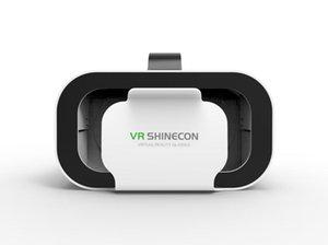 VR SHINECON RIQUADRO 5 mini VR Occhiali Occhiali 3D Virtual Reality Occhiali VR cuffia Per Google Cardboard smartp