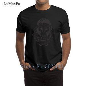 Erkekler Aile İlkbahar Sonbahar Tshirt Yeni Ç Boyun Tee Gömlek Gevşek İçin Erkekler Maymun Astronotların T-Shirt için Pictures T Shirt oluştur
