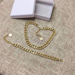 Explosión en cadena de CD clásico collar de las mujeres del diseñador de joyería de diseñador de joyas de diseño de lujo