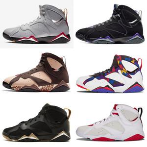2019 alta qualidade patta x 7 raio allen olympic 7s homens sapatos de basquete história de voo Hare Mens Raptor Sports 7-13