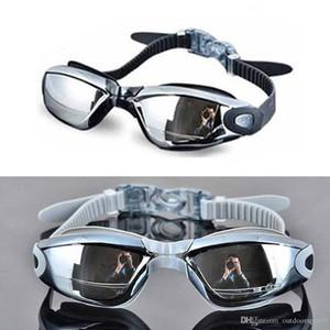 Гальваника УФ-защита водонепроницаемый анти-туман купальники очки плавание дайвинг водные очки Jiafas регулируемые плавательные очки Женщины мужчины