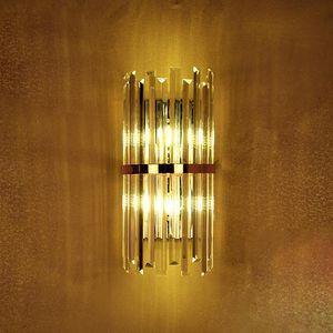 스위치 거실 k9 크리스탈 벽 sconce 침실 벽 램프 침실 식사 벽 조명 컨퍼런스 홀 호텔 골드 크리스탈 램프