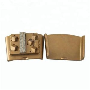 KD-HP30 HTC Diamond шлифовального диска PCD алмазные шлифовальные Обувь с PCD и один шлифовального Сегмент эпоксидным Снять и бетонный пол 12PCS