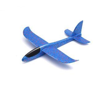 Çocuk Bayramı Partisi 30cm Kid Uçak Oyuncak El Köpüğü Düzlem Modeli Açık Eğlence Oyun FY0014 Fırlatma için Hediye Malzemeleri