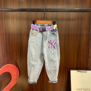 Children jeans kids clothing fashion autumn and winter boys and girls new denim trousers WSJ000 # 122018