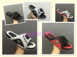 2019 nouvelle mode 4 pantoufles Livraison gratuite hommes chaussures de basket-ball sandales Hydro IV 4s diapositives noir chaussures de sport en plein air baskets