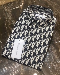 Camisa para hombre del diseñador de la camisa de la marca francesa de París marca de ropa 189 hombres algodón de manga larga estilo de Hip Hop camisa de alta calidad 2019 nueva llegada