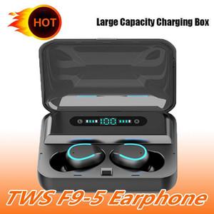 1 шт новый горячий F9 TWS беспроводные наушники Наушники BT5. 0 беспроводной зарядный чехол бинауральные стерео наушники F9-5 Bluetooth гарнитура