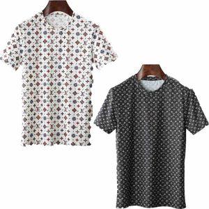 High-end men's designer T-shirt fashion casual T-shirt male Medusa casual high-quality hip-hop T-shirt