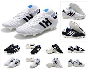 뉴 코파 70Y FG 블랙 / 화이트 / 레드 70 년 한정판 Mens Primeknit Copa Mundial 축구 축구화 부츠 Cheap Cleats Size 39-45