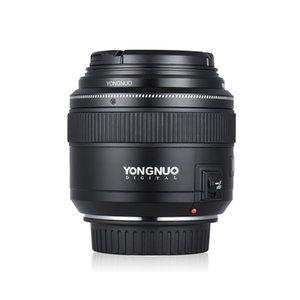 Venta al por mayor YN85mm F1.8 Lente estándar lente teleobjetivo medio Primer foco fijo de la lente para la cámara Canon EF 7D 5D Mark III 80D 760D 650D
