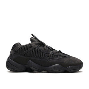 Kanye West 500 Scarpe da corsa soft Vision Utility Black Moon Giallo Blush pietra di alta qualità donna degli uomini Sport sneakes con la scatola