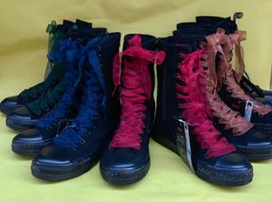 16 colori nuovi merletti colorati merletti lace up scarpe accessori sneaker parte 2019 fabbrica all'ingrosso scarpe di tela shoeslaces