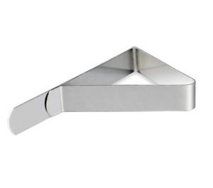 Venta caliente de Acero Inoxidable Mantel Cubierta Clips Triángulo Titular de Paño de Mesa Boda Prom Mantel Abrazaderas Prácticas Herramientas del partido