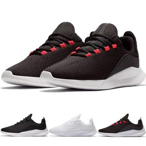 2019 London 5 Zapatillas de running para hombre Viale Olympic Sports Athletic Jogging Walking Women Sneakers Triple Black White Light Transpirable Tariners