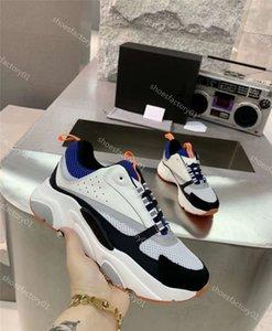 2020 Nueva caja original raza del corredor de zapatos escotados de malla de cuero Trainer Casual mujer del hombre barato zapatilla de deporte de alta calidad zapatos de calidad superior