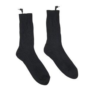 Thermal Cotton Heated Socks Sport Ski Socks Winter Foot Warmer Electric Warming Sock Battery Power Men Women